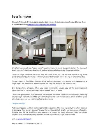 Home Decor & Interior Furnishing