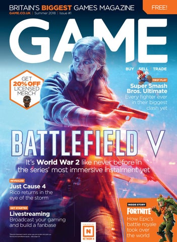 GAME Magazine > Summer 2018 | Issue #1 by GAME Magazine - issuu