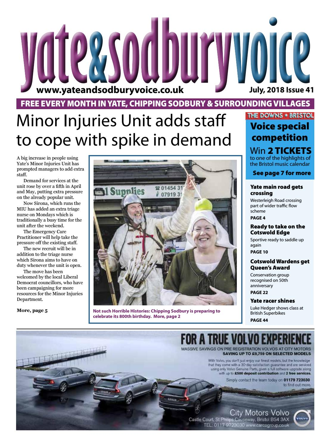 6c49deb382 Yate   Sodbury Voice July 2018 by Richard Drew at Yate and Sodbury ...