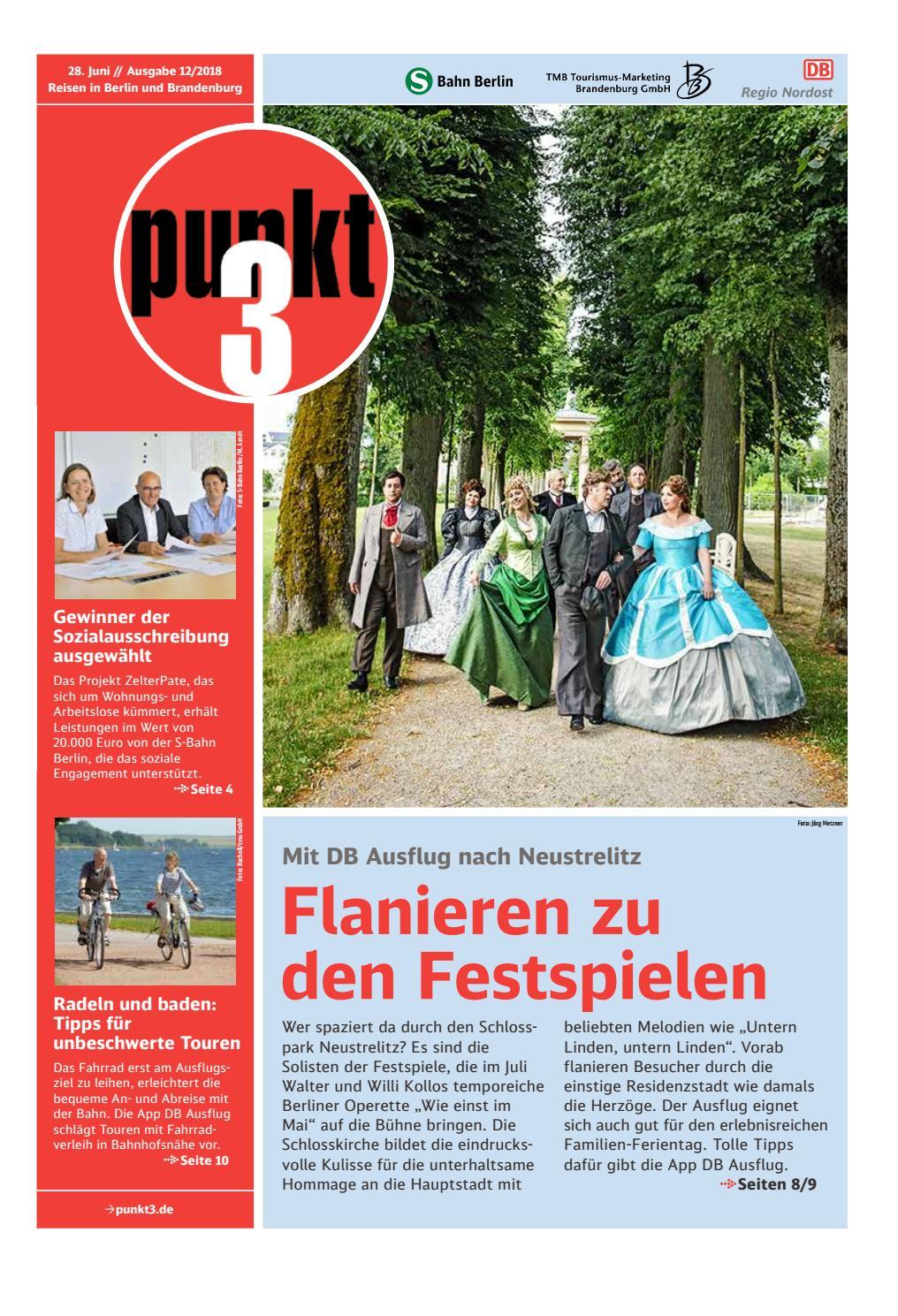 Punkt3 Ausgabe 12/2018 vom 28.06.2018 by S-Bahn Berlin GmbH - issuu