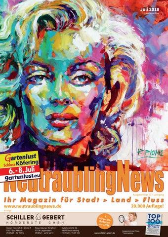 Neutraublingnews Juli 2018 By Schnappcom Gmbh Werbeagentur Issuu