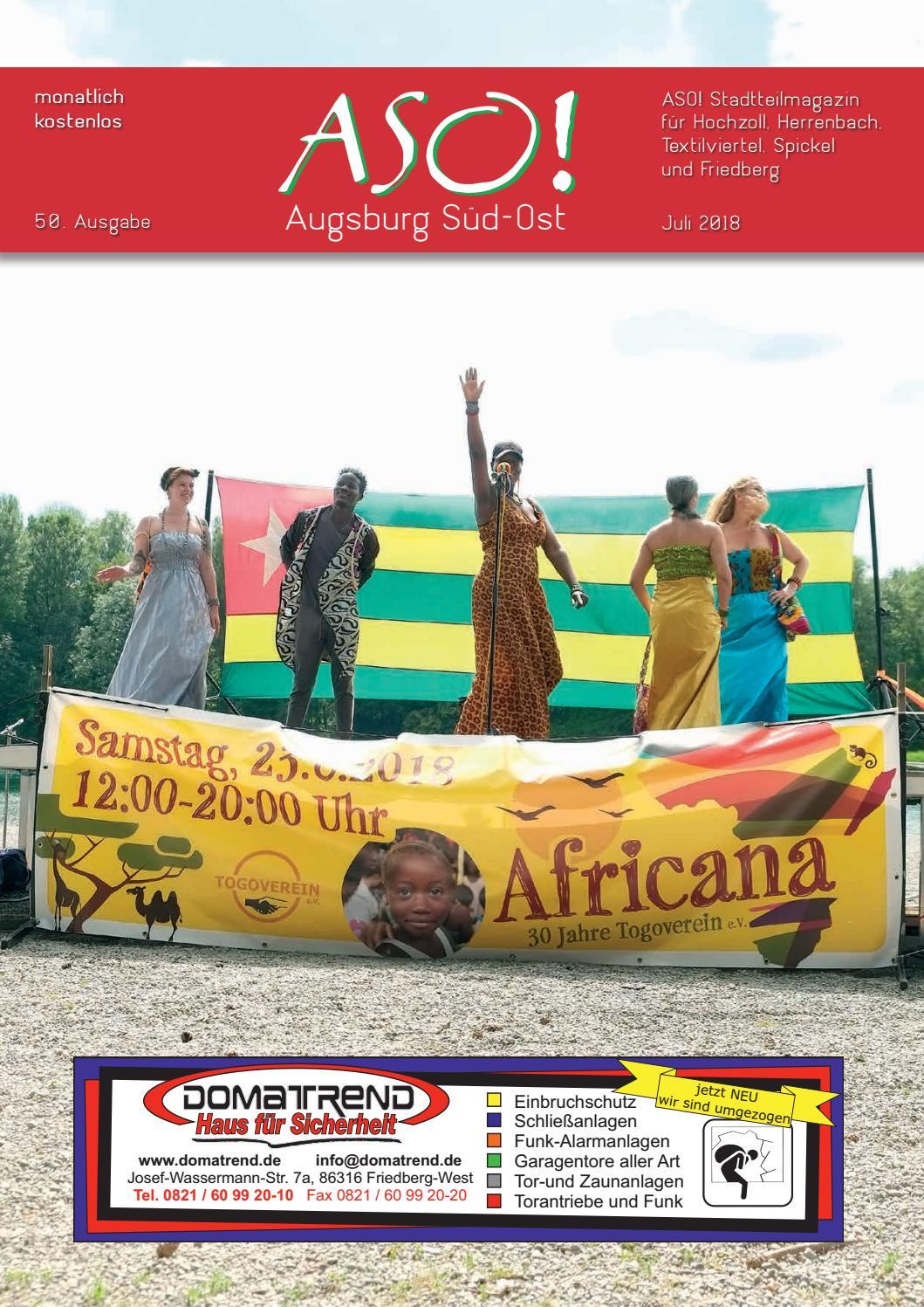 ASO! Augsburg Süd-Ost - Juli 2018 by Bernhard Steiert - issuu