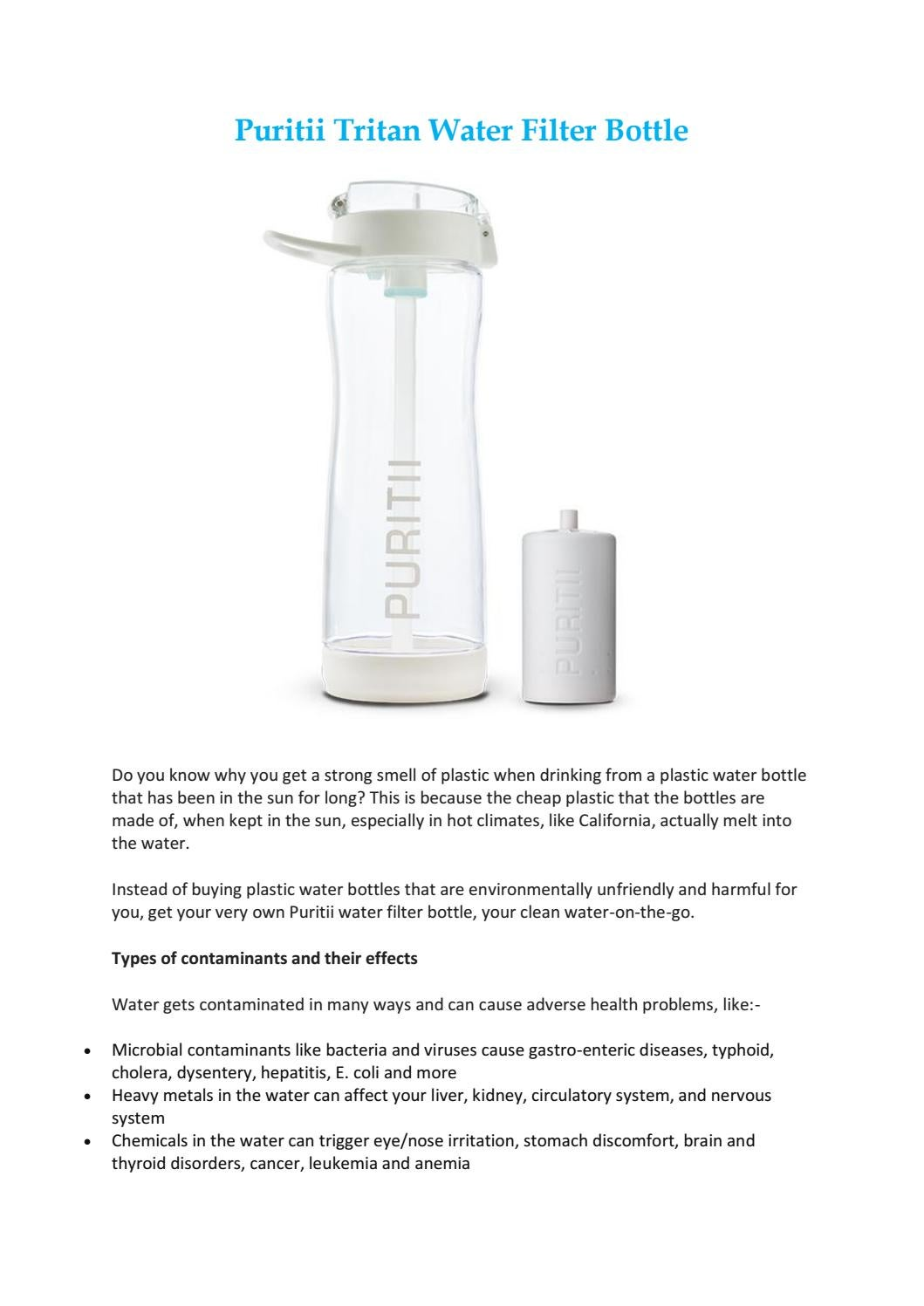 4bf8e0ac13 Puritii tritan water filter bottle by Env2 Inc - issuu
