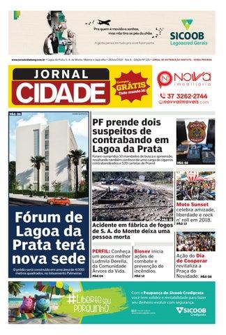 048f0d534 Jornal Cidade - Lagoa da Prata e região - Nº 120 - 28/06/2018 by ...