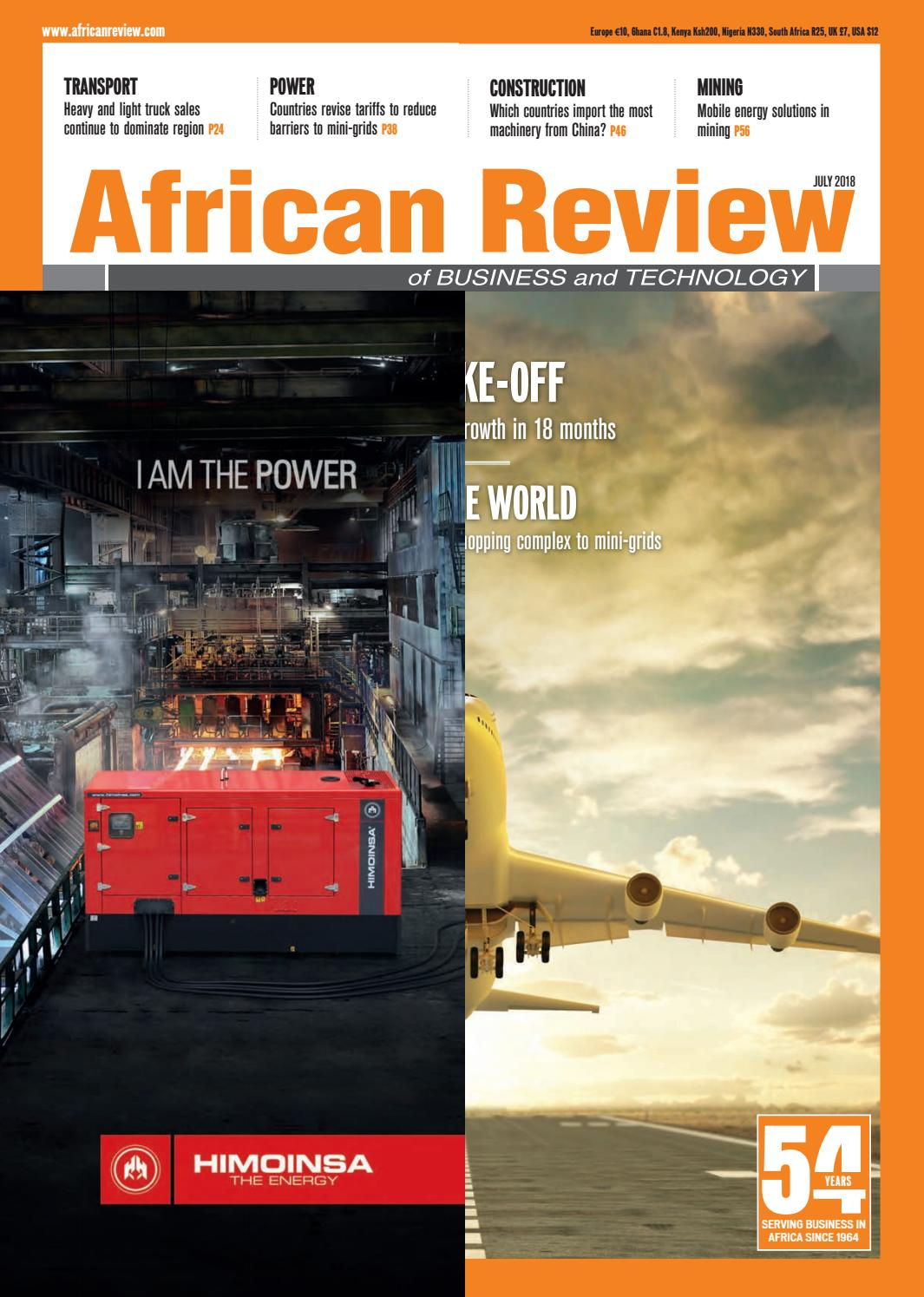 African Review July 2018 by Alain Charles Publishing - issuu