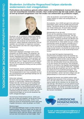 Page 12 of Juridische Hogeschool en NIOW