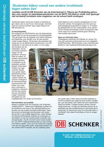 Page 30 of DB Schenker en Helicon MBO Den Bosch