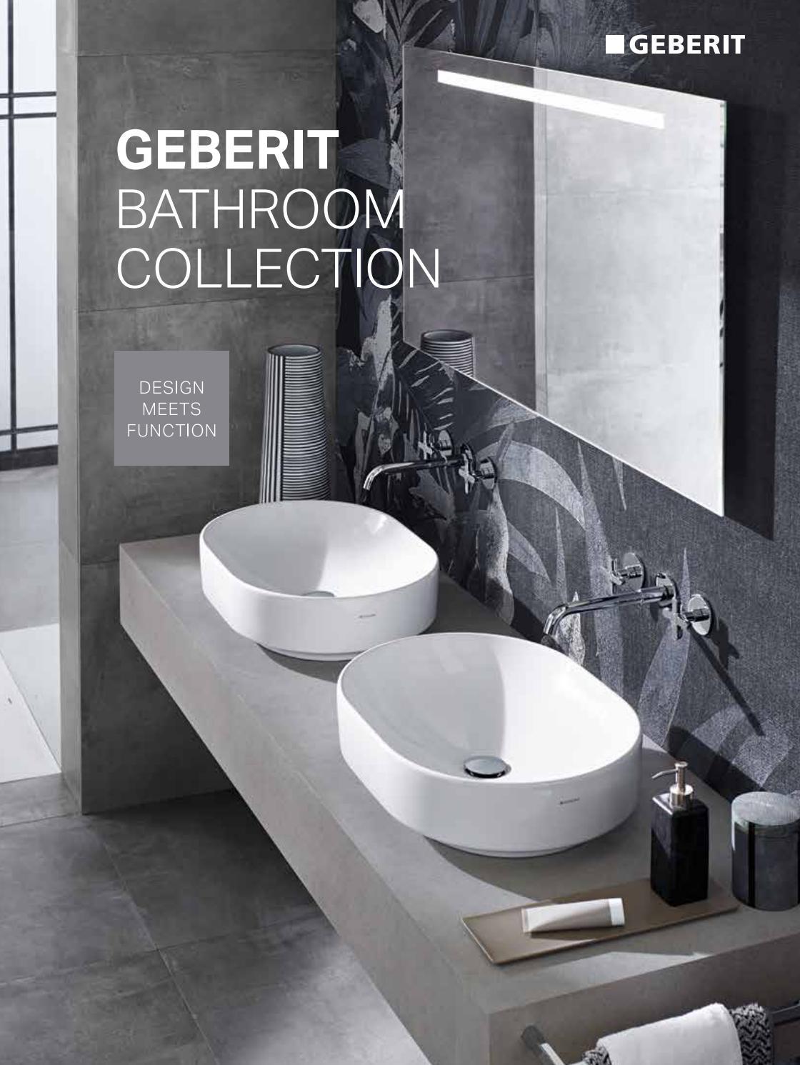 Largeur Wc Suspendu Geberit pdf fr geberit bathroom collectiontophotelsupplier - issuu