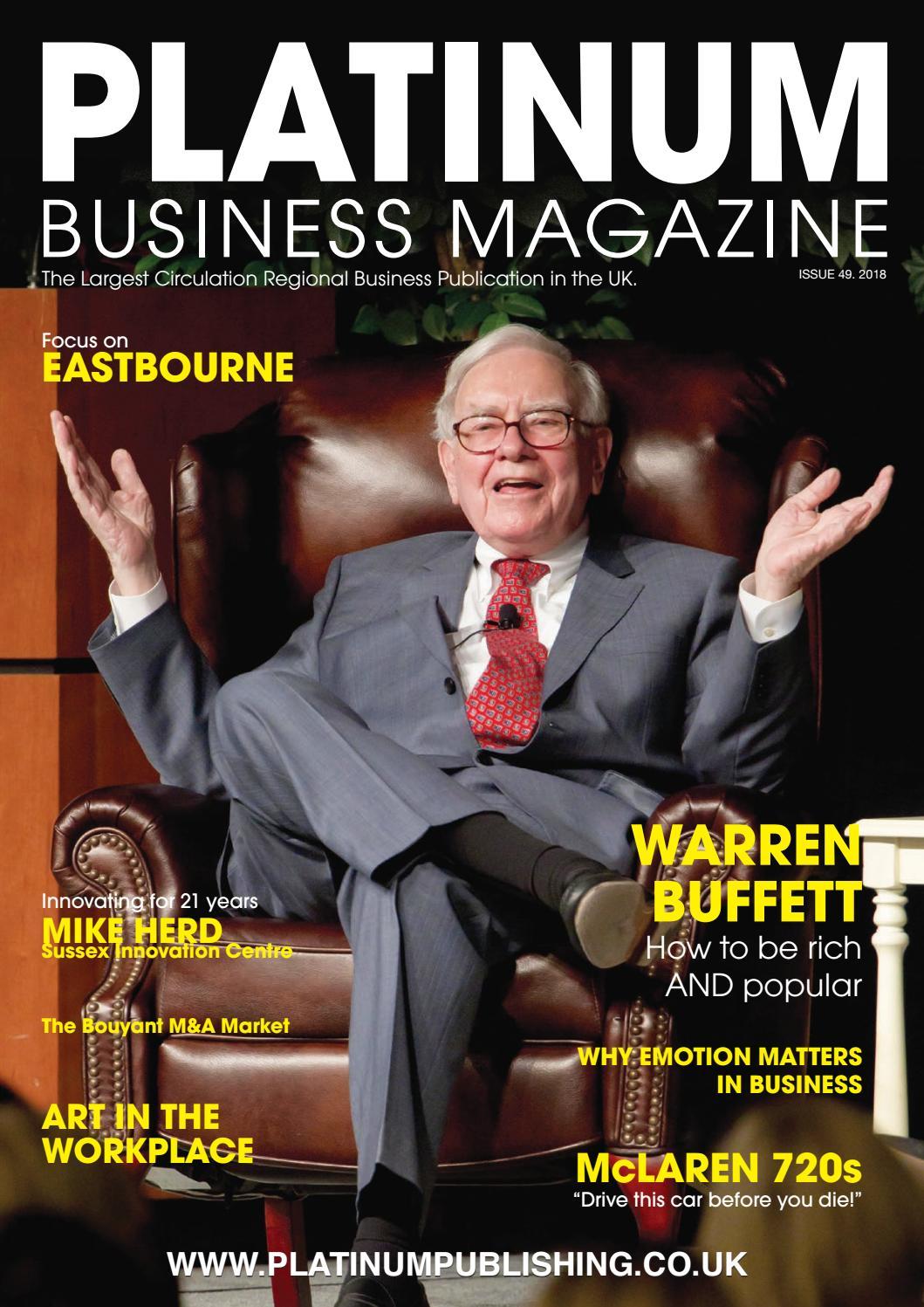 59ea2b7d75 Platinum Business Magazine issue 49 by Platinum Business - issuu