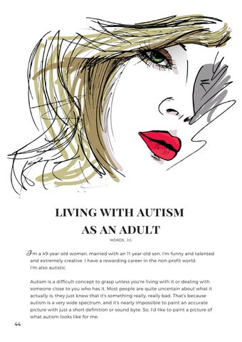 Page 48 of Living With Autism As an Adult