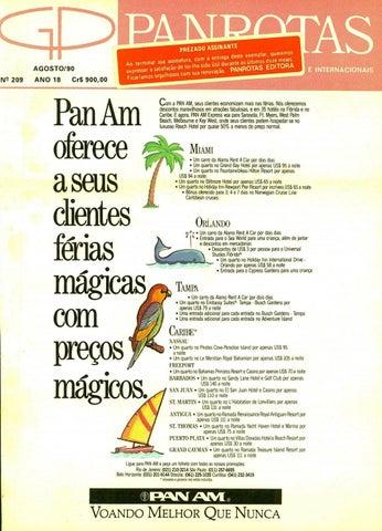 9176aec332 Guia PANROTAS - Edição 209 - Agosto 1990 by PANROTAS Editora - issuu