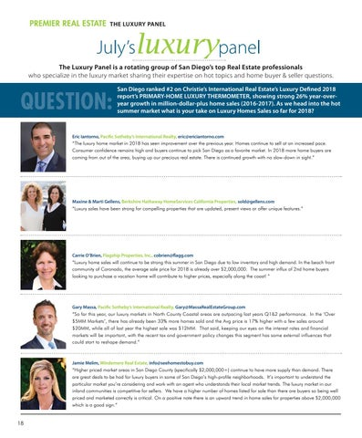 Page 18 of July's LUXURY PANEL