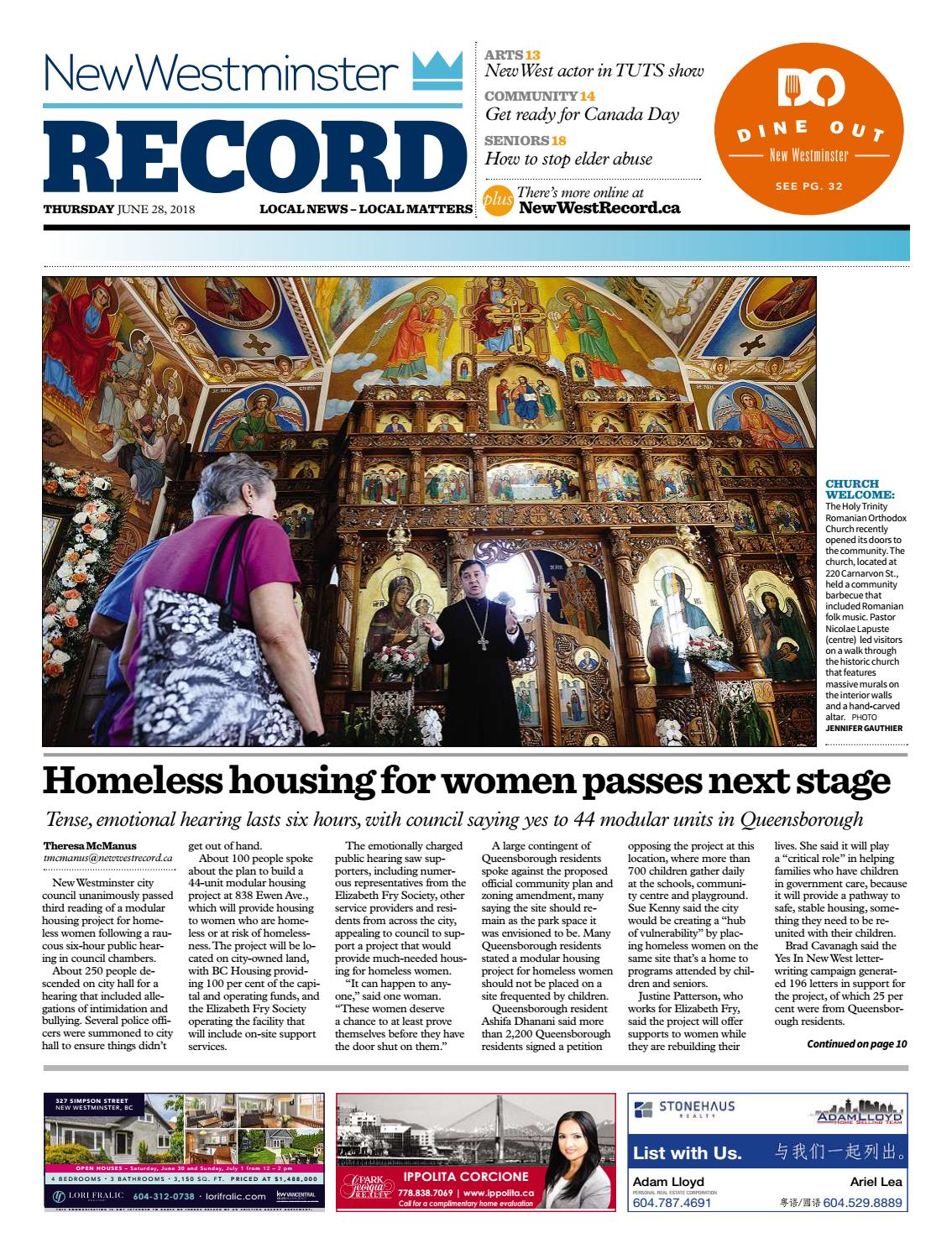 New Westminster June 28 2018 by Royal-City-Record - issuu