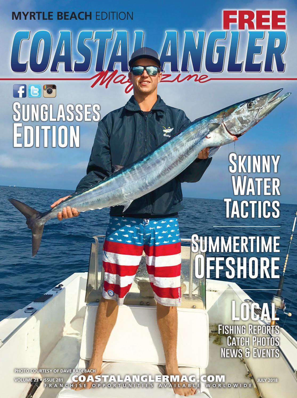 Coastal Angler Magazine July Myrtle