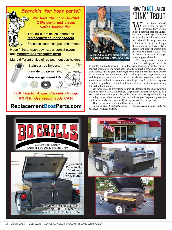 Coastal Angler Magazine - July / Tidewater, VA-Outer Banks