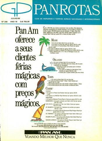 ebe1f0d4ae7e3 Guia PANROTAS - Edição 208 - Julho 1990 by PANROTAS Editora - issuu