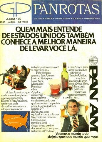 fedbbbe33 Guia PANROTAS - Edição 86 - Maio 1980 by PANROTAS Editora - issuu