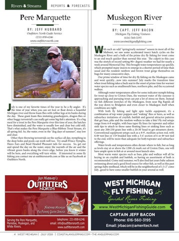 The Angler Magazine - July / West Michigan by Coastal Angler