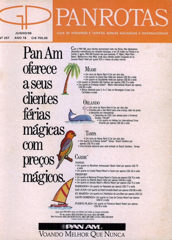 382cfa212d976 Guia PANROTAS - Edição 207 - Junho 1990 by PANROTAS Editora - issuu