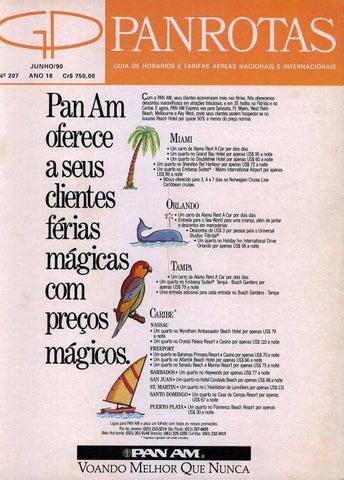 839c7c7778 Guia PANROTAS - Edição 207 - Junho 1990 by PANROTAS Editora - issuu