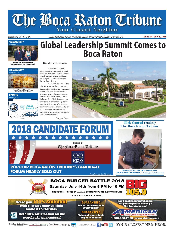 The Boca Raton Tribune ED 369 By