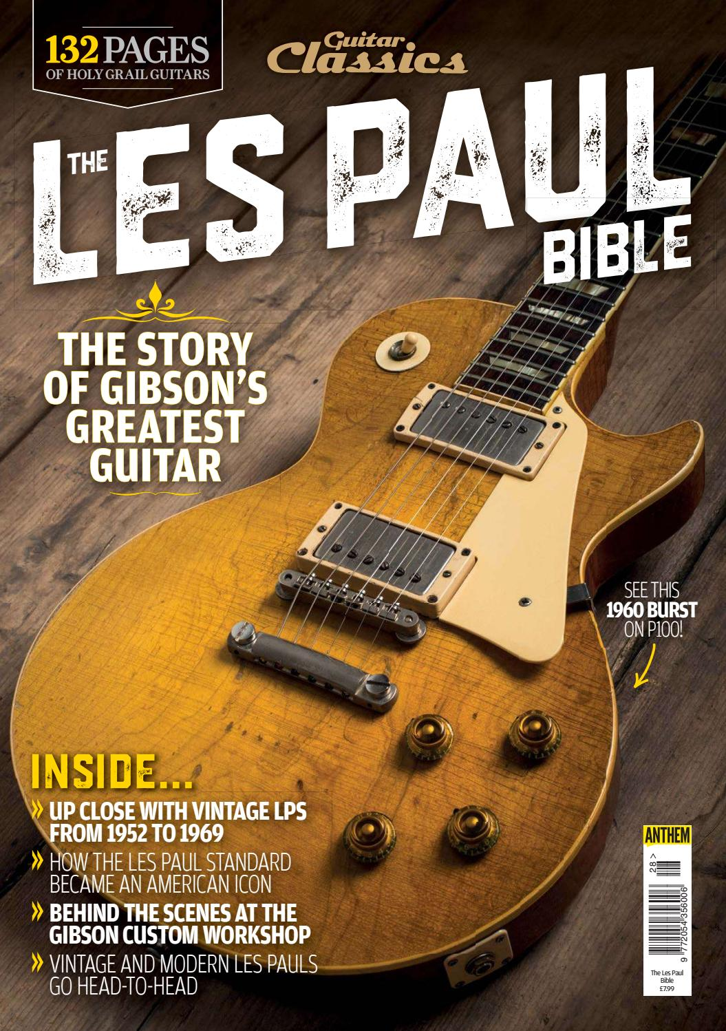 Guitar Classics - The Les Paul Bible 2018 by Guitar Player