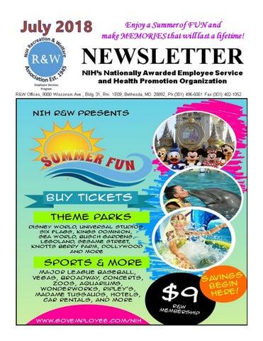 July 2018 NIH R&W Digital Newsletter by NIH R&W - issuu