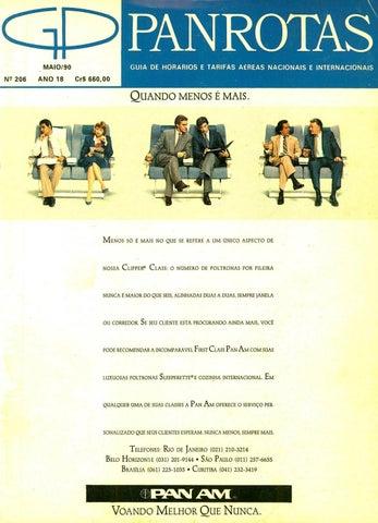 1901104b5516d Guia PANROTAS - Edição 206 - Maio 1990 by PANROTAS Editora - issuu