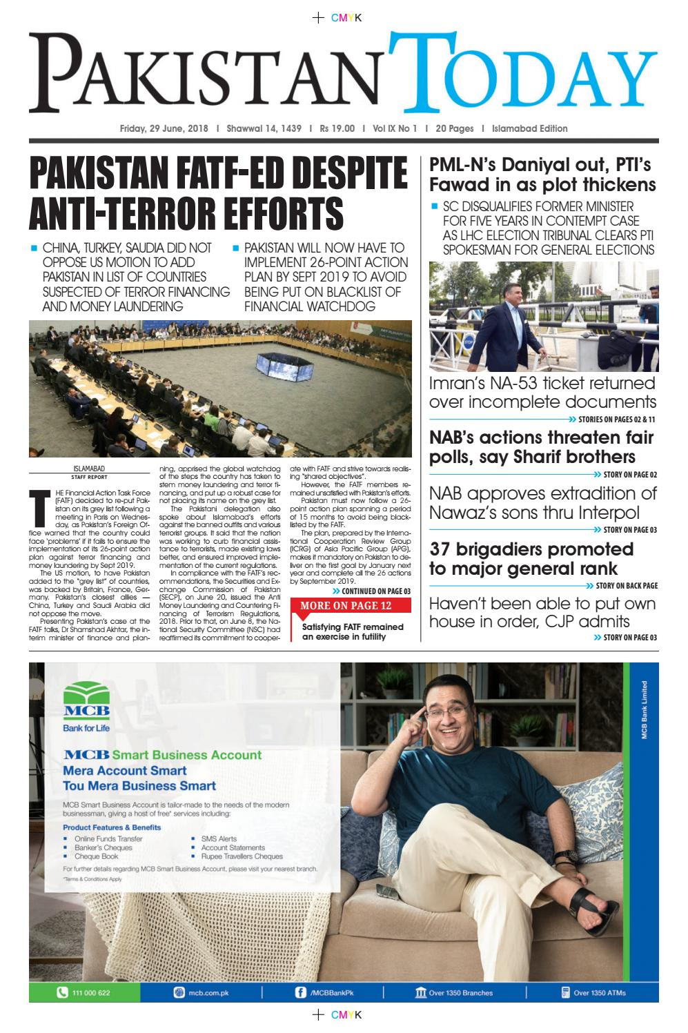 E paper pdf 29 june (isb) by Pakistan Today - issuu