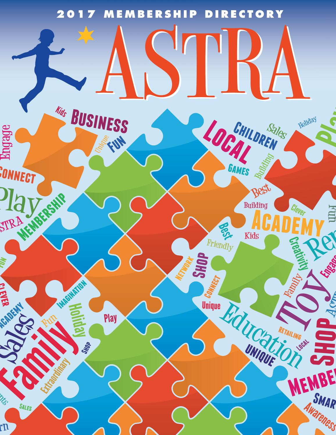 17b77ee31f3 ASTRA Membership Directory 2017 by Fahy-Williams Publishing - issuu
