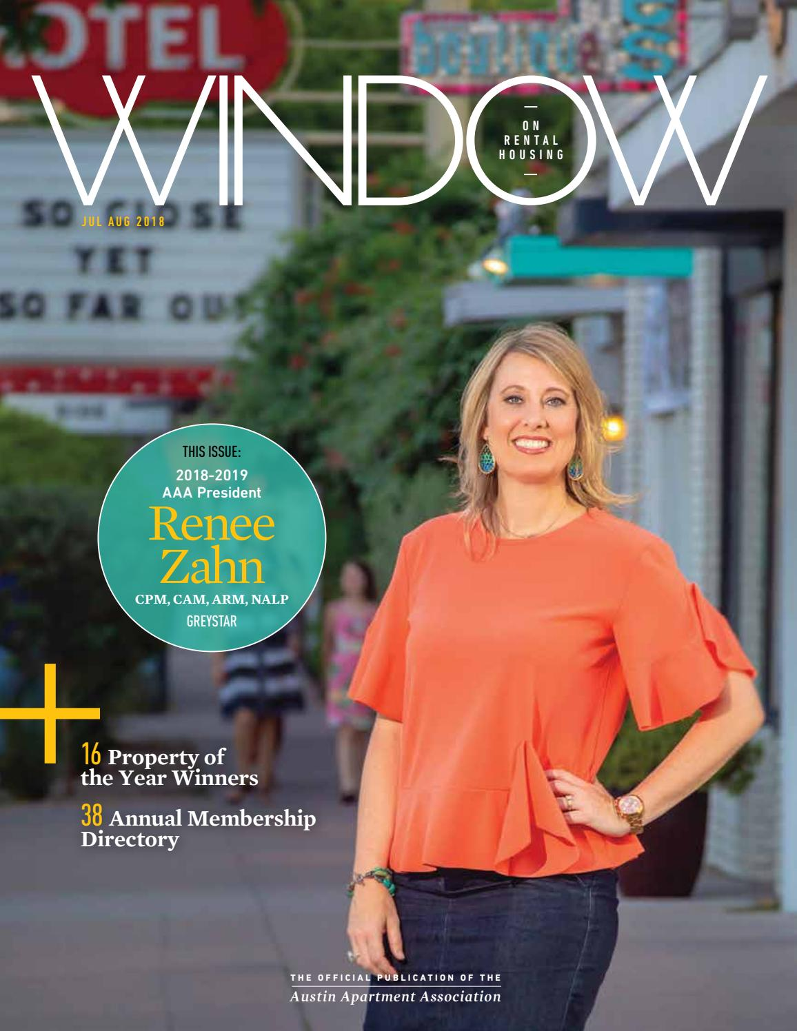 July August 2018 Window Magazine By Austin Apartment Association Issuu
