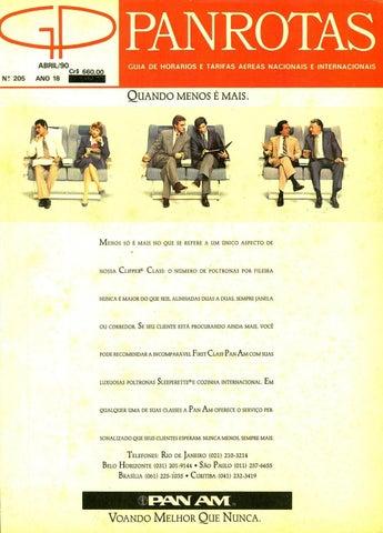 c7bd961ea Guia PANROTAS - Edição 205 - Abril/1990 by PANROTAS Editora - issuu
