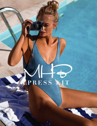 7b27bd2fdccd3 Monica Hansen Beachwear Press Kit by Digital Publisher - issuu