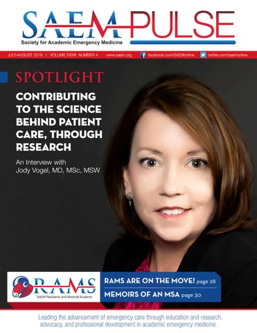 SAEM PULSE July–August 2018 by Society for Academic