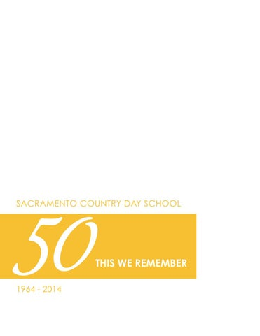 Incredible Sacramento Country Day 50Th Anniversary History Book By Pabps2019 Chair Design Images Pabps2019Com