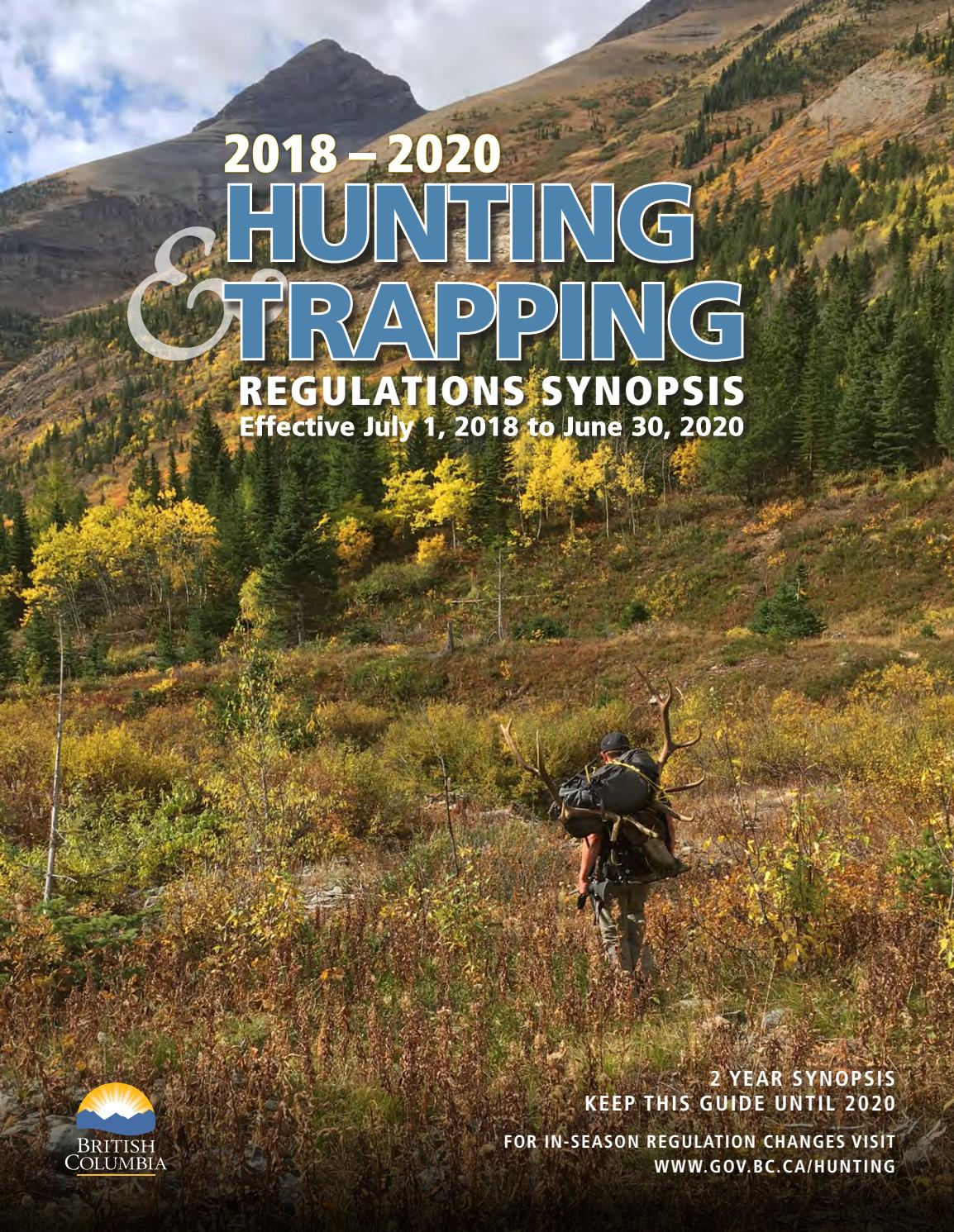 Special Features - 2018-2020 Hunting And Trapping by Black Press