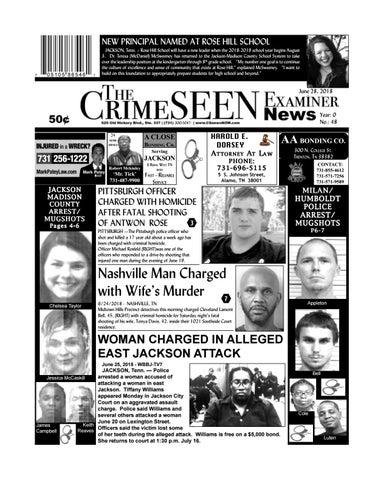 CrimeSEEN Examiner News June 28, 2018 by CrimeSEEN Examiner - issuu