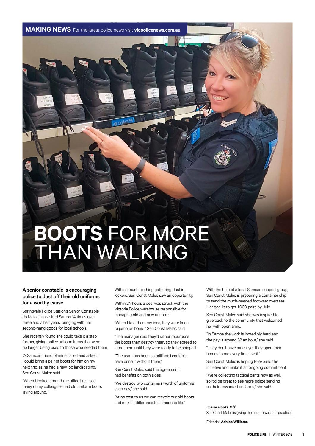 Police Life WINTER 2018 by Victoria Police - issuu