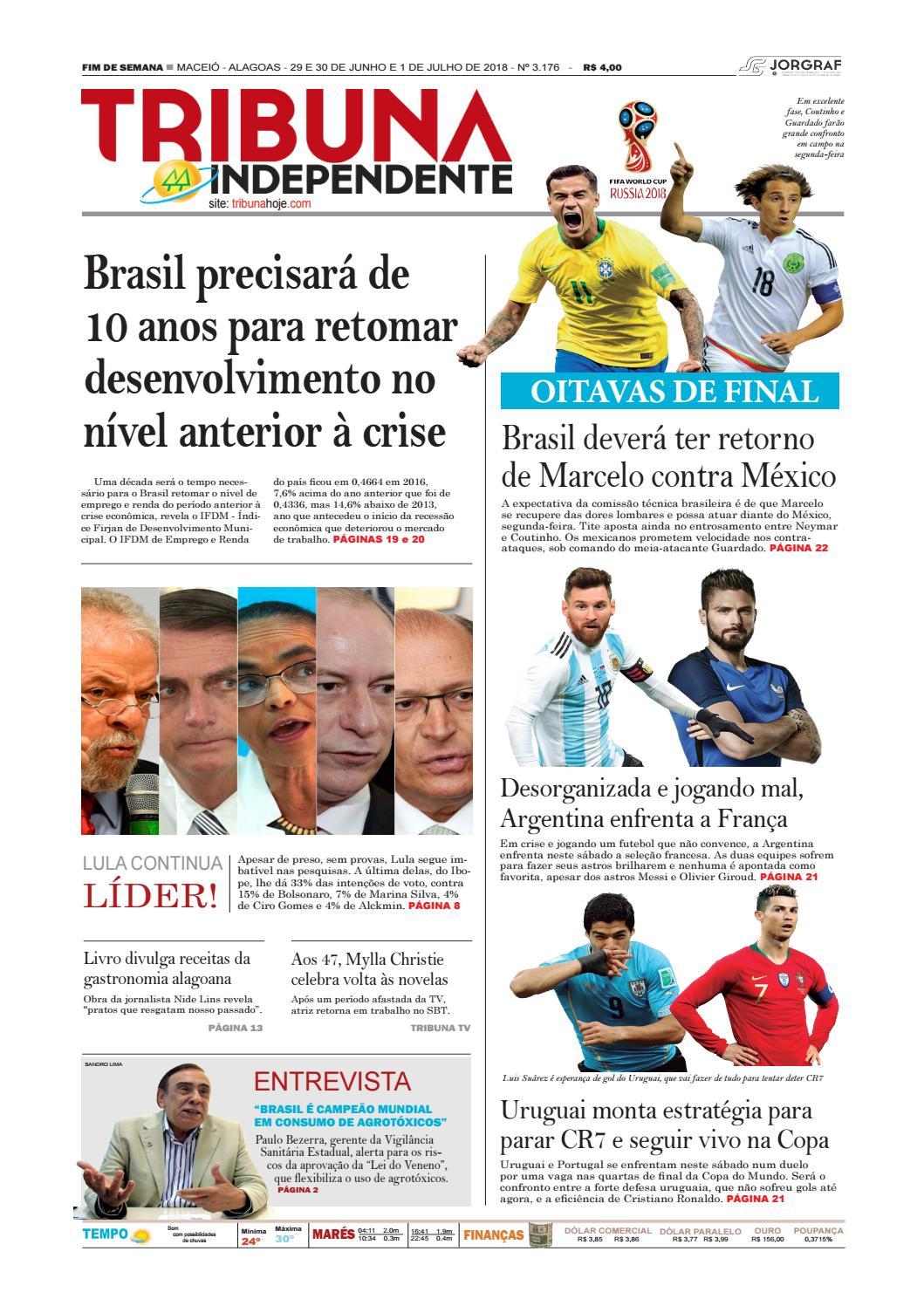 20722eb96b25b Edição número 3176 - 29 e 30 de junho de 2018 by Tribuna Hoje - issuu