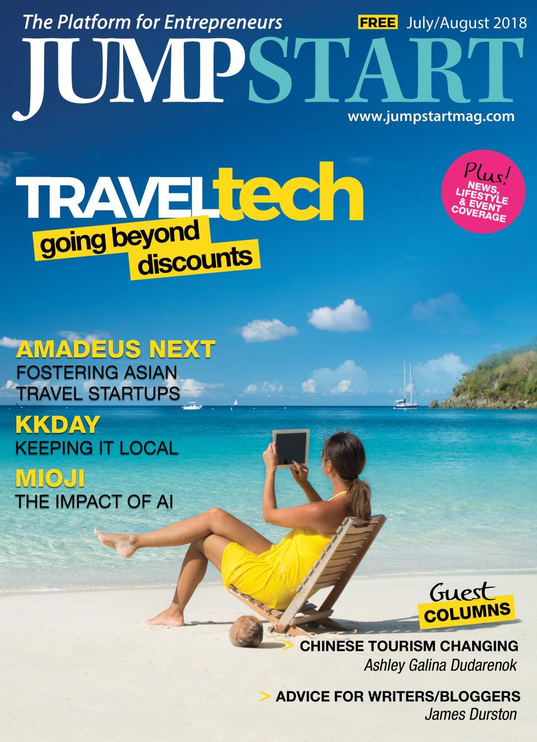 Startup Magazine of Hong Kong: Jumpstart Issue 22 (July