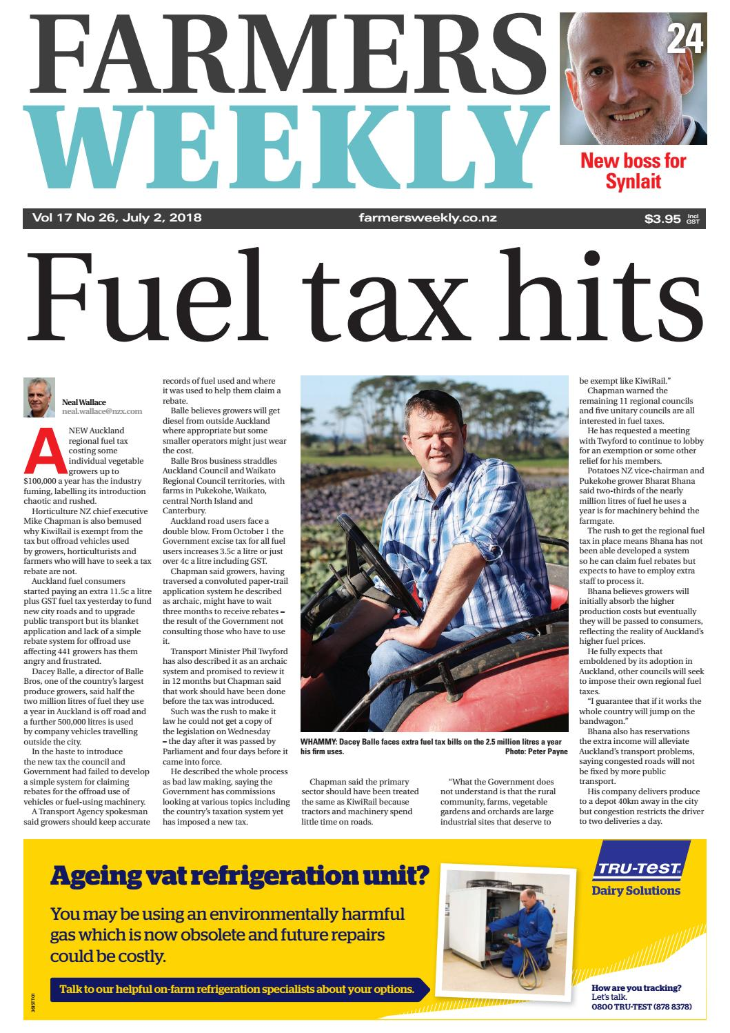2ce9ed8033829 Farmers Weekly NZ July 02 2018 by Farmers Weekly NZ - issuu