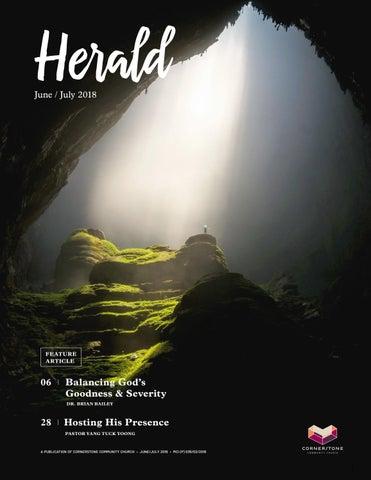 Cornerstone Herald June/July 2018 by Cornerstone Herald - issuu