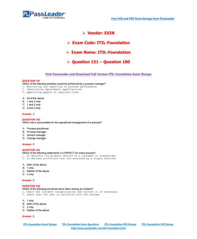 Operation book service pdf itil