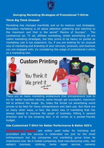 4f5bd360 Promotional T-Shirt Manufacturers by Kabir Creation - issuu