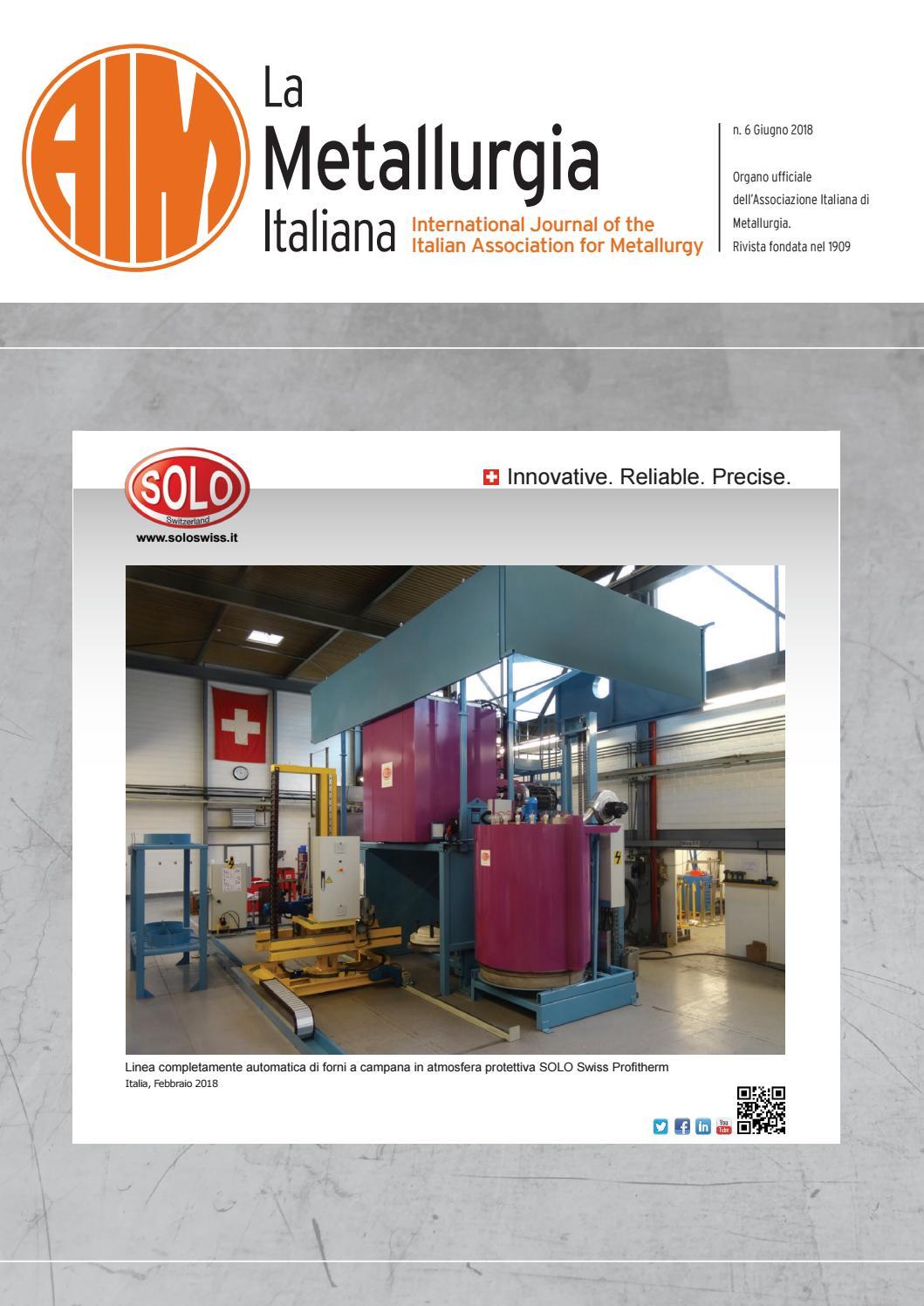 Demolizione Scala In Cemento Armato la metallurgia italiana - giugno 2018 by aimnet3 - issuu