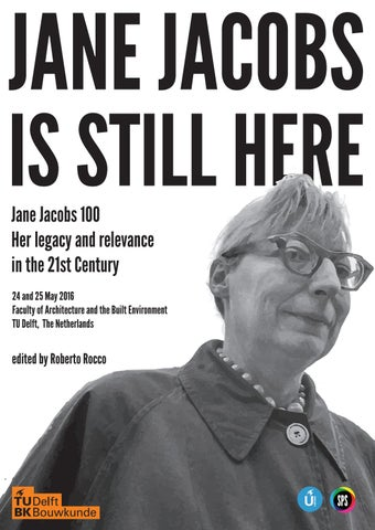 e8997884919780 Jane Jacobs is still here  Report of the Conference Jane Jacobs 100 ...