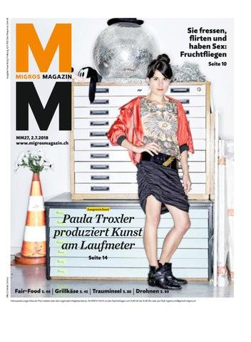 Migros magazin 27 2018 d ne by Migros Genossenschafts Bund