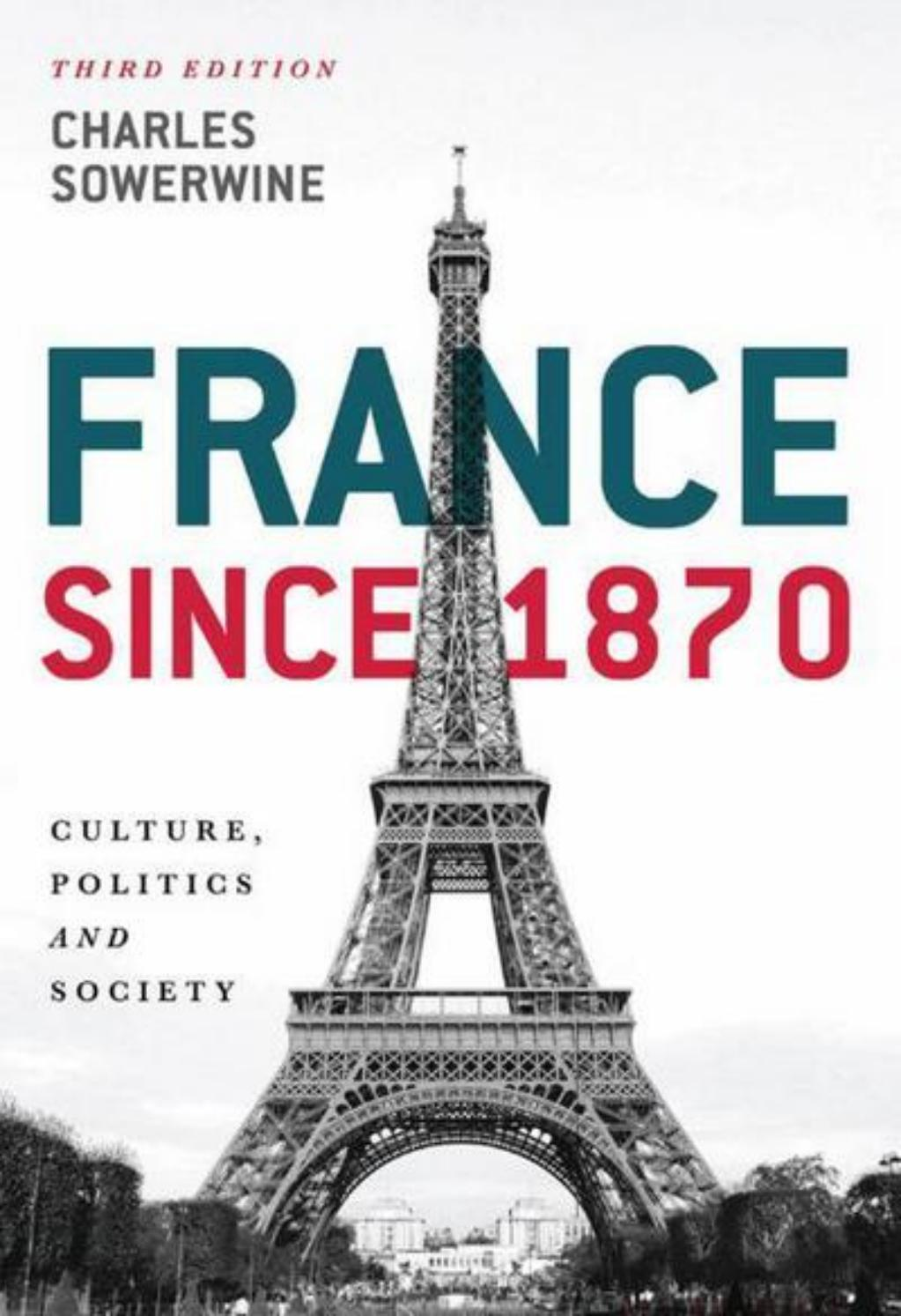 France Since 1870 Sample Chapter By Macmillan International Higher