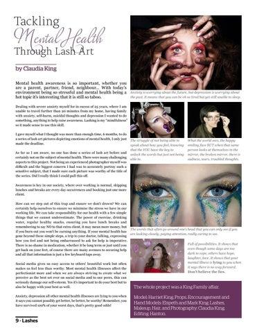Page 12 of Mental Health through Lash Art
