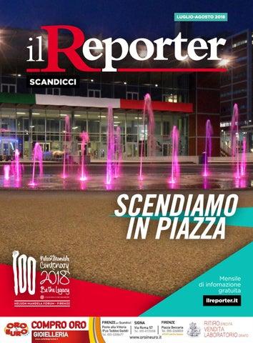 best service ac6d9 1a5b8 Il Reporter Scandicci - Luglio Agosto 2018 by Il Reporter ...